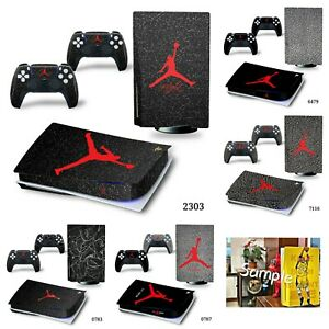 Jordan (5 Options Avail) PS5 Skin Decal Vinyl Wrap  Sticker for PlayStation 5