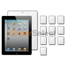 10X NEW Ultra Clear HD LCD Screen Protector for Tab Tablet Apple iPad 2 2nd Gen