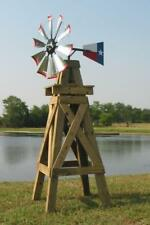 """30"""" Decorative DIY Head Kit Galv Blades Made In Texas For 8' Decorative Windmill"""