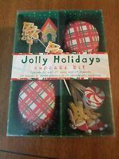 Jolly Holidays Cupcake Kit, New, Meri Meri