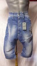 G-STAR RAW Herren Jeans 1/2 Shorts Größe W30  Alcatraz Loose Tapered    + NEU +
