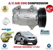 FOR NISSAN QASHQAI 1.5 dCi 2007->2013 AIR CON COMPRESSOR BRAND NEW OE QUALITY