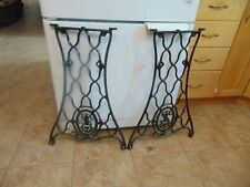 antique sewing machine base /stand/legs   nice  # 5697