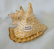 Herend Figurine Conch Shell 3 1/2""