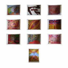 Etudes scripturales peinture acrylique sur isorel ARTBOOK by PN