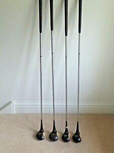 Vintage Spalding Top-Flite Wooden Golf Clubs Model 28