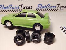 8 pneus AR uréthane Subaru ARTIN 1/43 Largeur 6