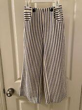 Zara Girls Nautical Stripe Trousers Pants Size 10