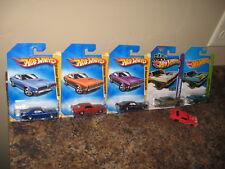 Hot Wheels Nice Lot of 6 1969 Mercury Cougar Eliminator Coupe Variation Zamac