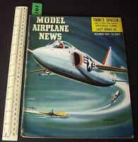 1954 Dec Vintage Model Airplane News USA Aeromodelling Hobby Magazine   (101)