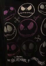 Disney Nightmare Before Christmas Tim Burton Jack Hooded Shirt  Women's L GG143