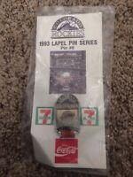 Colorado Rockies San Diego Padres Coca-Cola SGA Pin #6, 1993 Lapel Pin Series