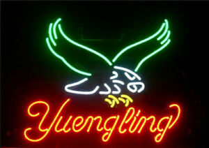 """New Yuengling Eagle Beer Bar Man Cave Neon Light Sign 17""""x14"""""""