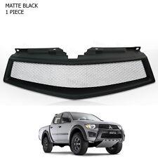 2009 - 2012 13 Front Grill Grille Net Black Trim 1 Pc On Mitsubishi L200 Triton