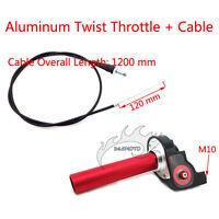 1/4 Turn Handle Throttle Cable For Honda CR CR80 CR85 CR125 CR250 Pit Dirt Bike