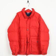 Vintage 80s SERGIO TACCHINI Small Logo Puffer Jacket Coat Red   Medium M