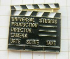 HOLLYWOOD / UNIVERSAL STUDIOS / FILMKLAPPE     .................Film-Pin (222e)