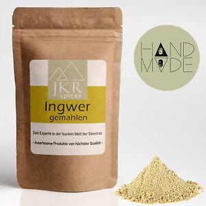 1000g Ingwer gemahlen Ingwerpulver Ingwerwurzel für Ingwer Tee Ginger JKR Spices