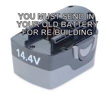 Re-build service for BLUE POINT 14.4 VOLT BATTERY ETB14417