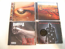 4 CD LOT HARD ROCK CANDLEBOX PANTERA OZZY QUEENSRYCHE EXCELLENT