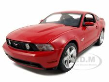 2010 FORD MUSTANG GT COUPE TORCH RED 1/18 DIECAST MODEL CAR BY GREENLIGHT 12813