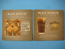 Beer Breweriana Coaster: ROCK BOTTOM Jack Daniel's Black Beehive ~ Big Head Todd