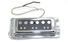 FrankenTone Chester Pickup - DeArmond mount Alnico Single Coil Neck- Black