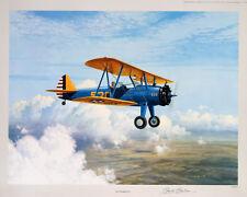 Gerald Coulson - Stearman PT17 - Aviation Art