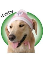 Winter Knit Snowflake Polyester Dog Hat Size Choice by Doggles Unisex