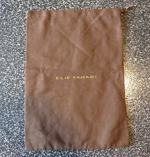 "Authentic Elie Tahari Dust Bag For Small Handbag Or Wallet 14"" X 10"""