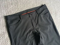 LULULEMON Grey ABC Pants - Size 40 - See Description For Defect