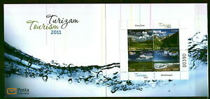 145 MONTENEGRO 2011 - Tourisam - Mauntain - Lake - MNH Booklet