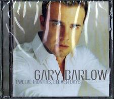 GARY BARLOW - TWELVE MONTHS, ELEVEN DAYS - CD NUOVO SIGILLATO OFFERTA