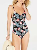 Roxy Printed One-Piece Swimsuit Women's Swimsuit Size M 0107