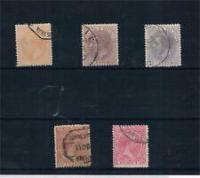 España. Conjunto de sellos Alfonso XII-Alfonso XIII