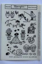 DDR Kult Typofix Haftdruckabreibfolie Rubbelbilder 4351 frecher Zeichenstift