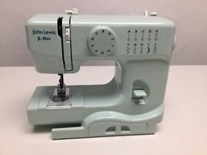John Lewis Mini Sewing Machine in Spearmint Working and PAT tested - DIS