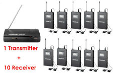 Takstar WPM-200 Wireless Monitor System 1 Transmitter+10 Receivers  In-Ear Stage