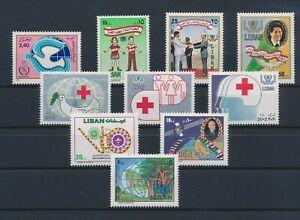 LN22877 Lebanon mixed thematics nice lot of good stamps MNH