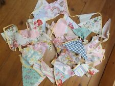 SHABBY CHIC BUNTING...FLORAL INC CATH KIDSTON 12 METRES..NEXT DAY POSTAGE