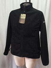 Dri Duck Lightning S 9395 Black Women's Performance Fleece Soft Jacket Full Zip