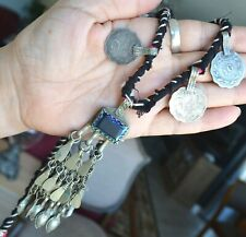 Vintage Indian necklace, Coin necklace, tribal coin necklace (Y22)