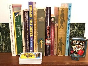 OCCULT BOOK LOT Kabbalah Tarot Magic Folklore Shamanism 14 Books