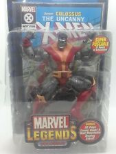 ToyBiz Marvel Legends Series V 2003 Colossus Action Figure w/ Comic Book A26