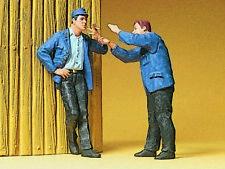 Preiser 45006  1:22,5 LGB; Bahnarbeiter, rauchend