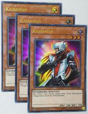 Set 3 Carte :  KAIBAMAN   LCKC-IT009 Ultra Rara in Italiano YUGIOH