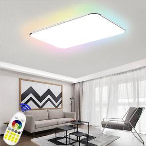 24W-128W LED RGB Deckenleuchte Deckenlampe Schlafzimmer Wandlampe