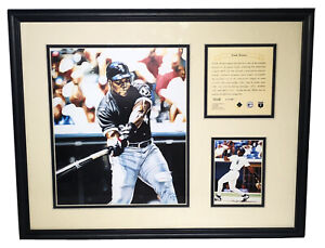 1995 Frank Thomas Chicago White Sox Framed Kelly Russell Lithograph Print #1646
