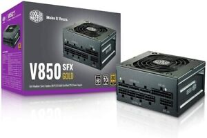 Cooler Master V850 SFX GOLD 0RPM 80+ Gold Modular Power Supply PSU ITX *NEW* ✈