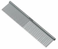Andis 65730 7 1/2-inch Steel Grooming Comb for Pets